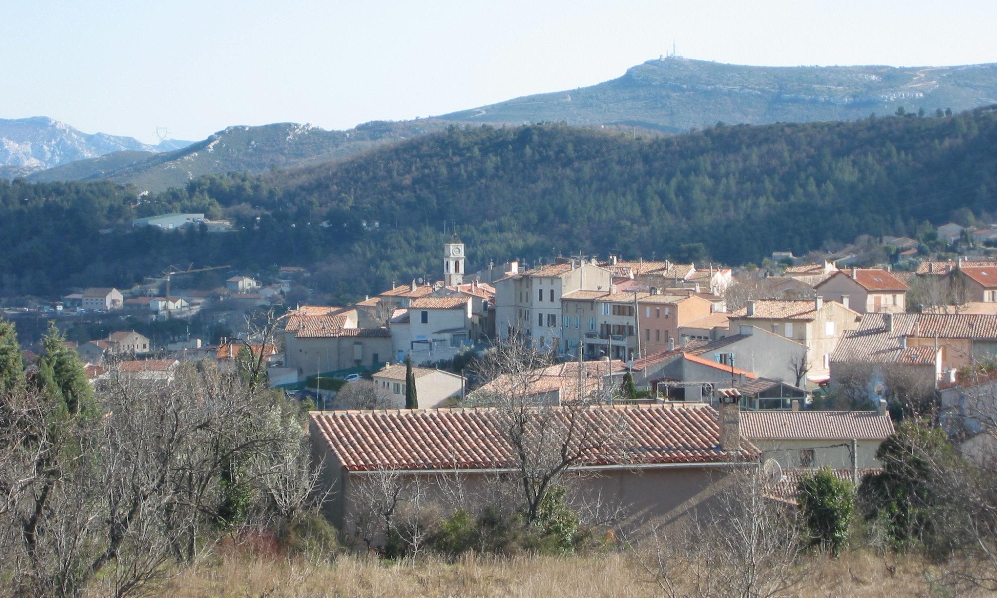 La commune de Cadolive présentée par Serge Perottino