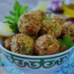 les falafels, ou croquettes de pois chiche