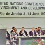 Réunion de Rio de Janeiro en 1992