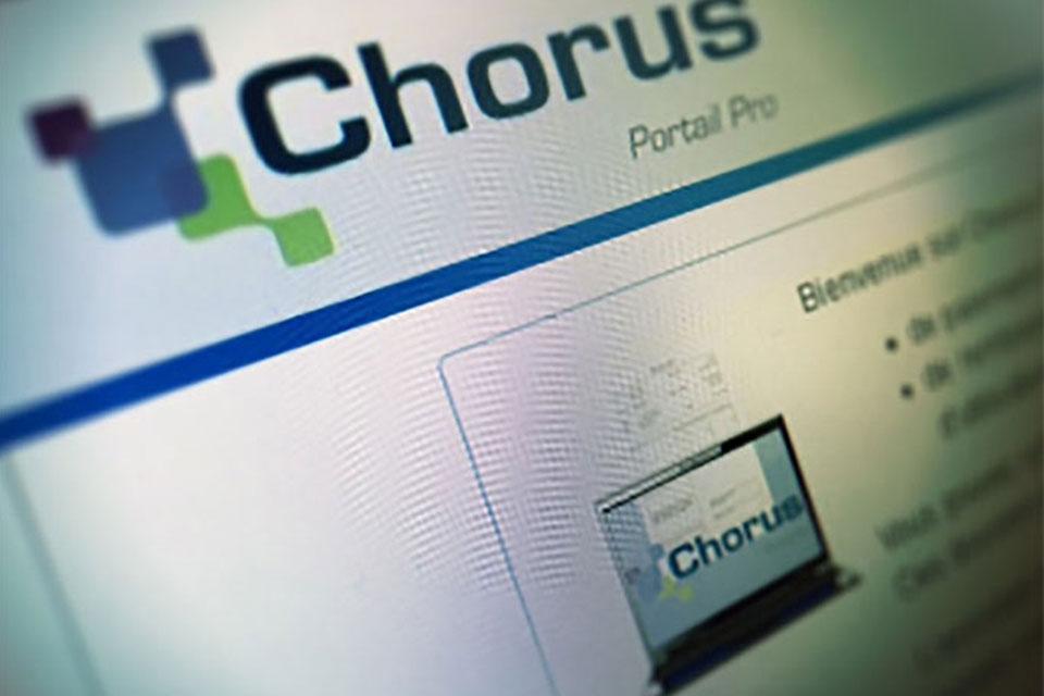 chorus portail pro