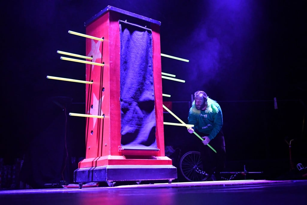 spectacle de magie et d'illusion